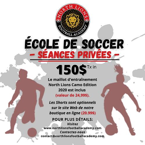 École de Soccer | Soccer School Private Sessions - December 2020