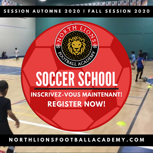 U7/U9 - Fall 2020 Session | Session Automne 2020