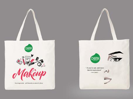 Túi Canvas cho Shop mỹ phẩm