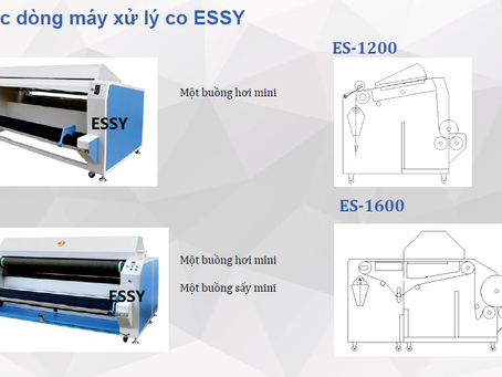 Máy xử lý co vải ESSY