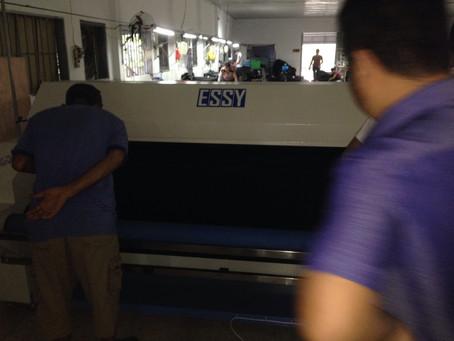 Máy xử lý co essy ES2800 lắp cho khách hàng