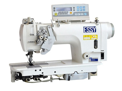 Máy 2 kim cố định điện tử, cắt chỉ tự động, ổ nhỏ ESSY