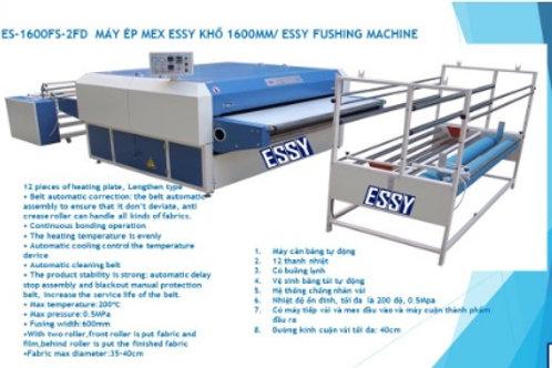 Bộ máy ép mex ESSY ES-1600FS-2FD, khổ rộng 1600mm