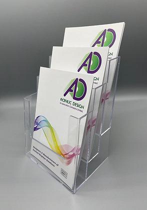 3 Pocket A5 (P) brochure holder