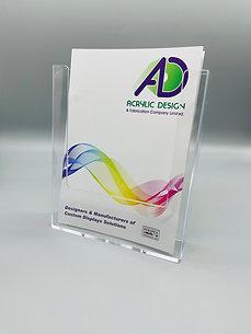 A5 wallmounted / counter top brochure holder