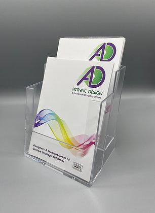 2 Pocket A5 brochure holder