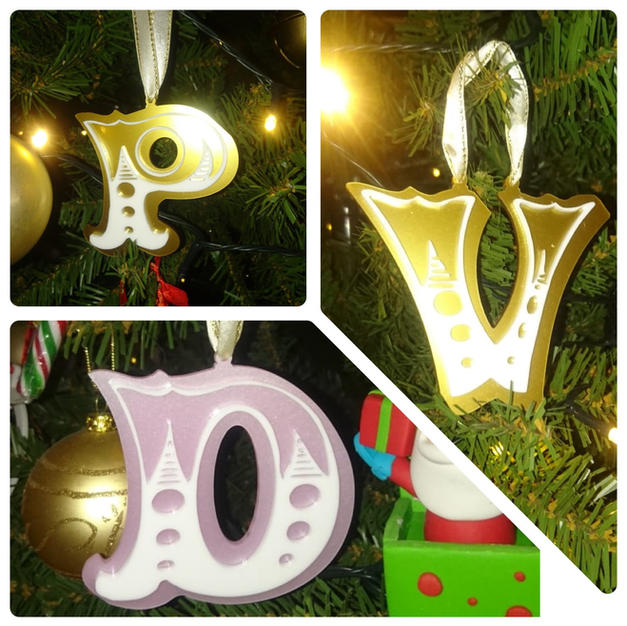 Letter decoration
