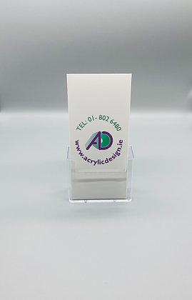 Counter DL brochure holder