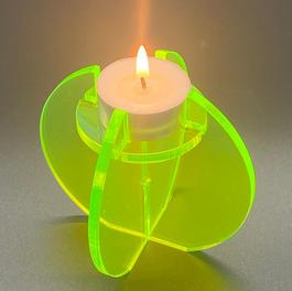 Decorative tea light holder