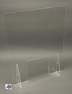 Free standing covid screen
