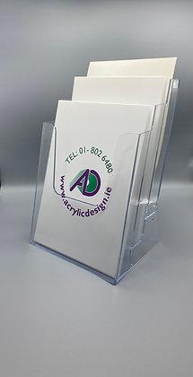 Counter 3 tier A4 brochure holder