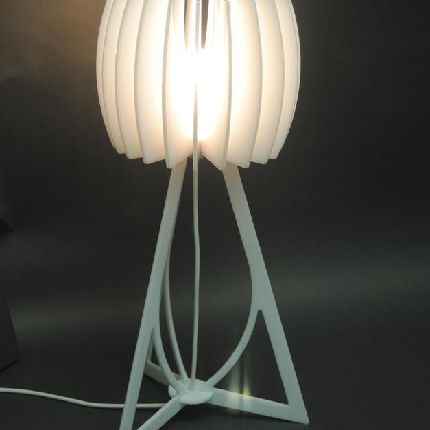 Perspex Table Lamp