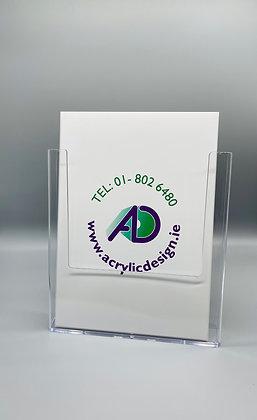 A4 wallmounted / counter top brochure holder