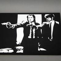 Pulp Fiction Pop Art