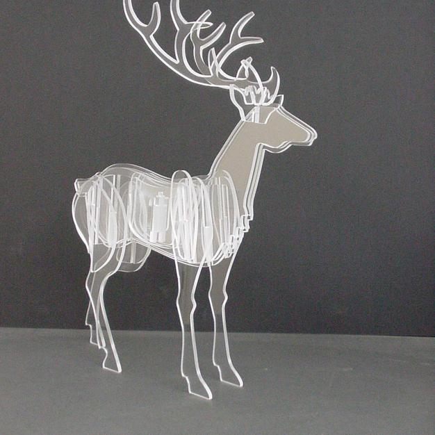 3D Deer decoration