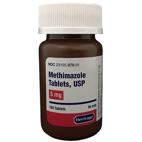 Methimazole Rx, 5 mg, 100 ct