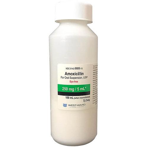 Amoxicillin Rx, Oral Suspension, 150 ml