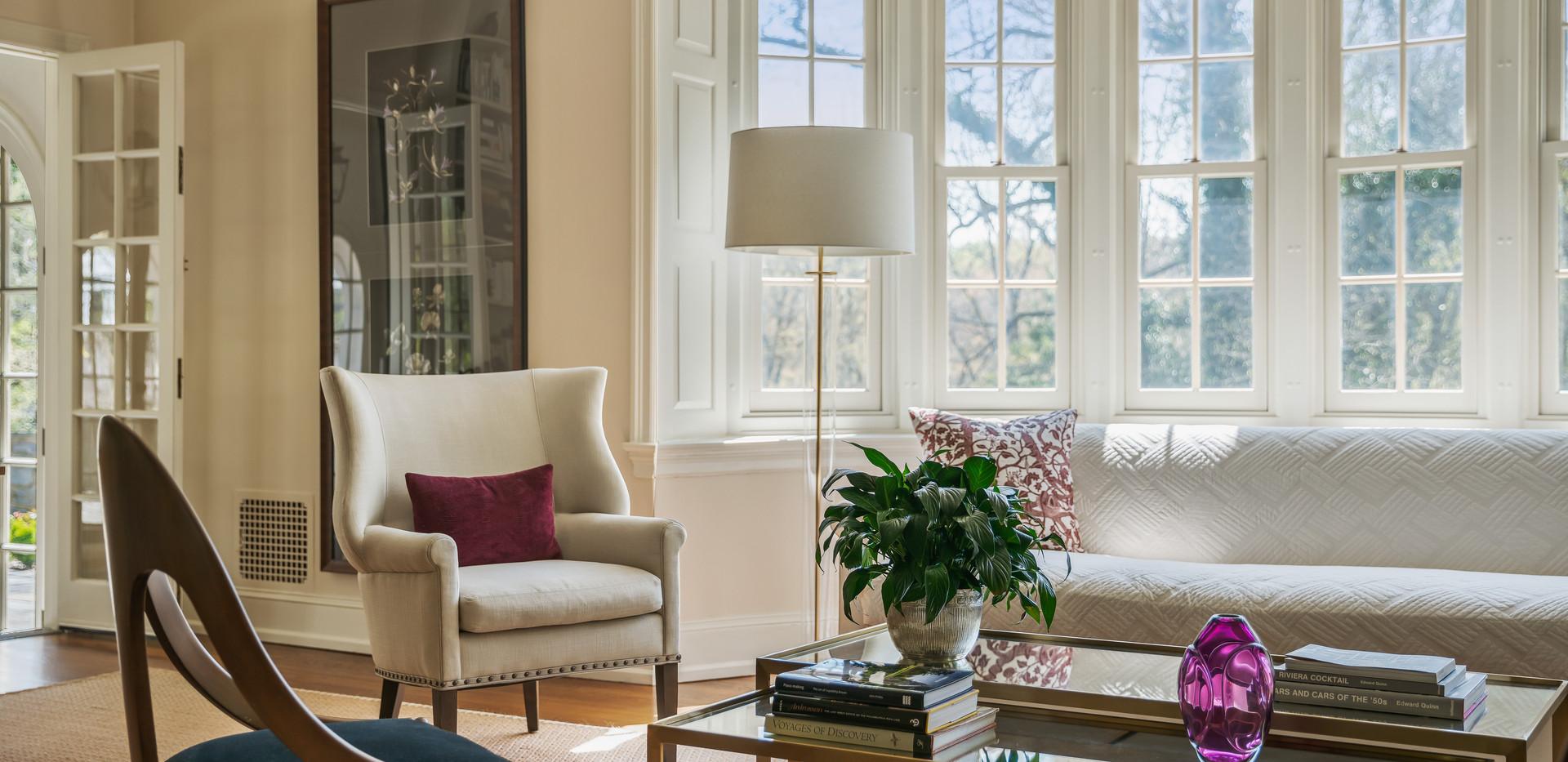 Chestnut Hill Livingroom