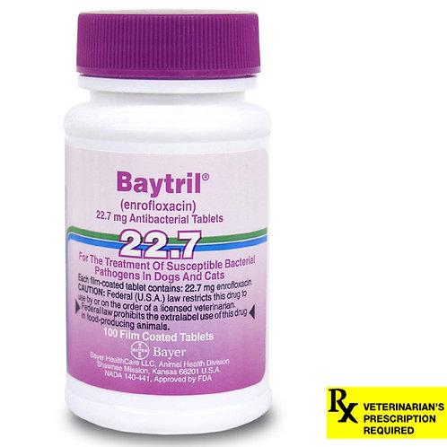 Baytril Rx, Tablets, 22.7 mg x 100 ct