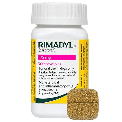 Rimadyl Rx, Chewables, 75 mg x 30 ct