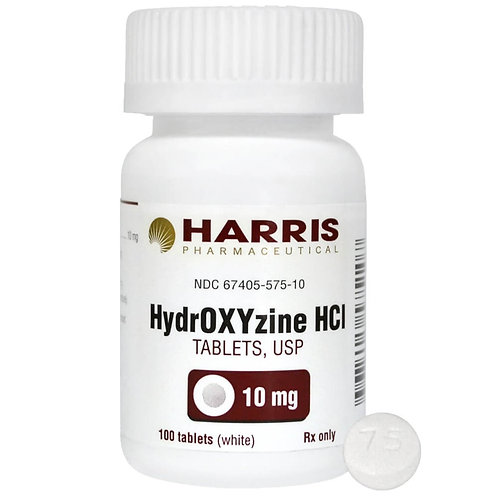 Rx Hydroxyzine Hydrochloride