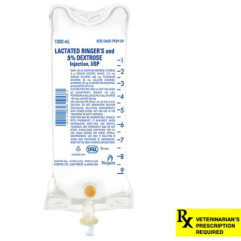 Lactated Ringer's Injection 5% Dextrose