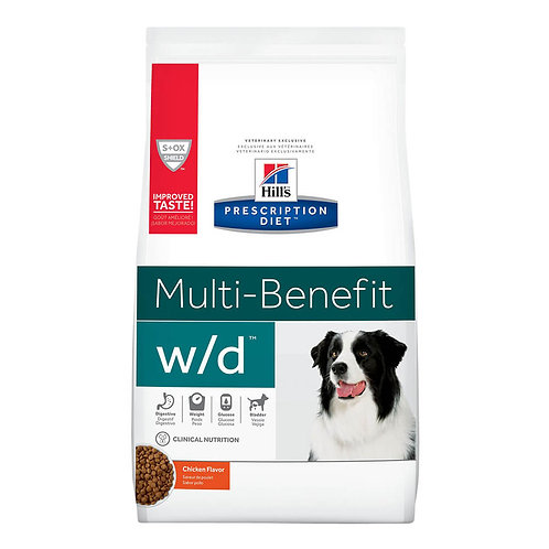 Hill's Rx w/d Canine, 8.5 lb