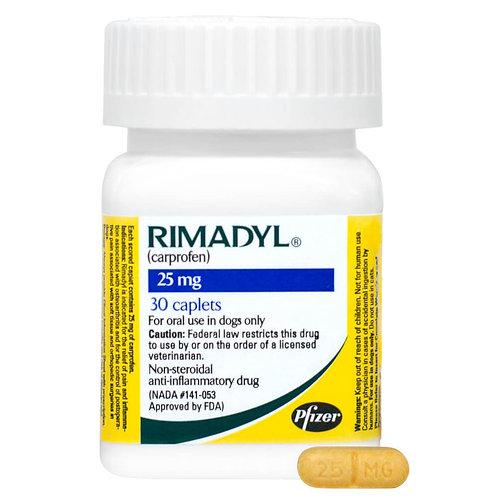 Rimadyl Rx Caplets, 25 mg x 30 ct