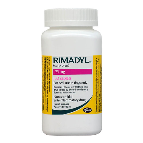 Rimadyl Rx, Caplets, 75 mg x 180 ct