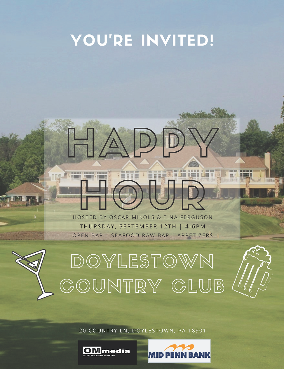 Doylestown Country Club Happy Hour.png