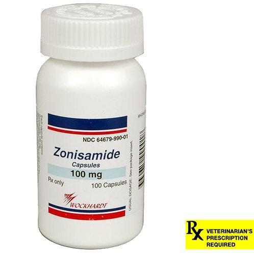 Rx Zonisamide Caps 100 mg