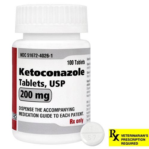 Ketoconazole Rx Tablets, 200 mg x 100 ct