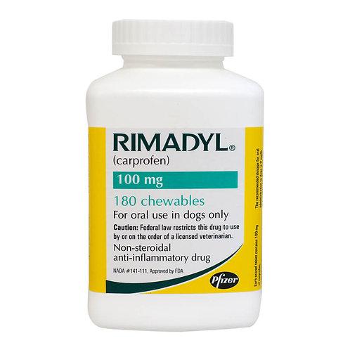 Rimadyl Rx, Chewables, 100 mg x 180 ct