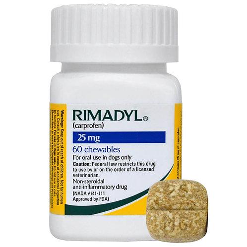 Rimadyl Rx, Chewables, 25 mg x 60 ct