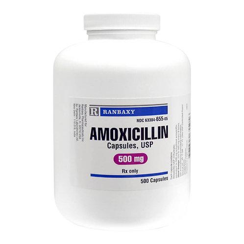 Amoxicillin Rx, Capsules,