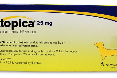 Atopica Rx, Dogs 9.1-16 lbs