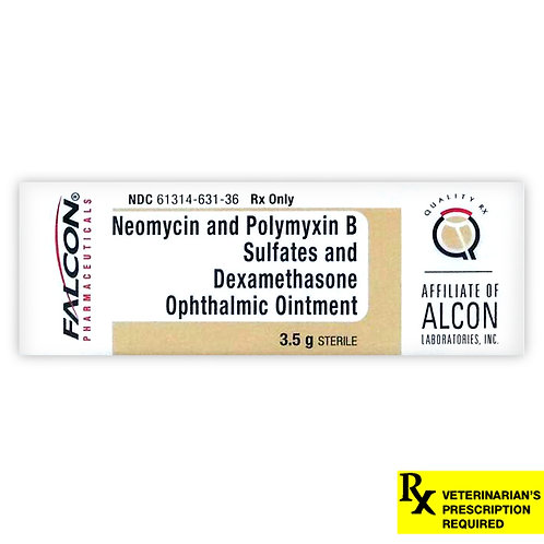 Neo Poly Dex Rx Ointment, 3.5 g