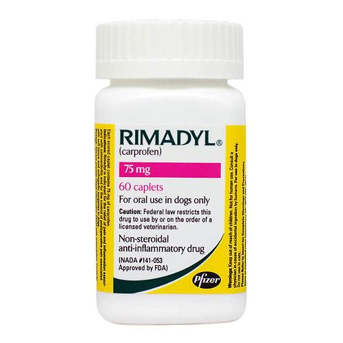 Rimadyl Rx, Caplets, 75 mg x 60 ct
