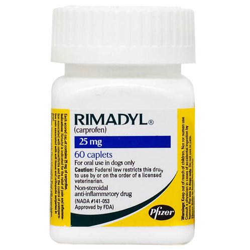 Rimadyl Rx, Caplets, 25 mg x 60 ct