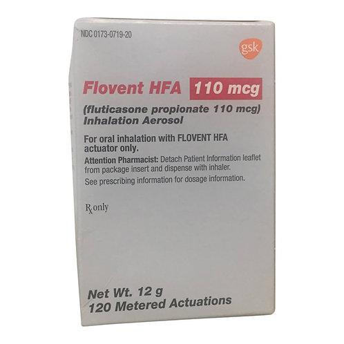 Rx Flovent (Fluticasone) Inhaler 110mcg 12gm