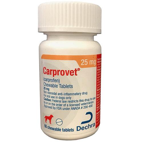 Carprovet (Carprofen) Chewable Tab 25mg 60s