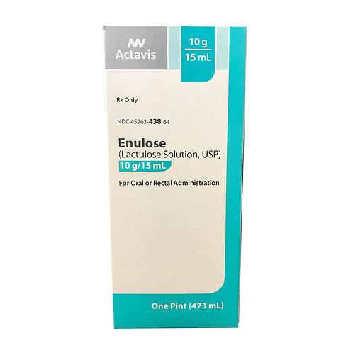 Rx Lactulose (Enulose), 16 oz, 473 ml