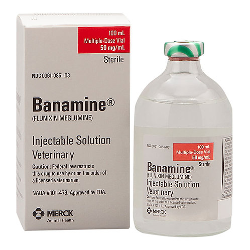 Banamine Injectable Solution Rx, 100 ml
