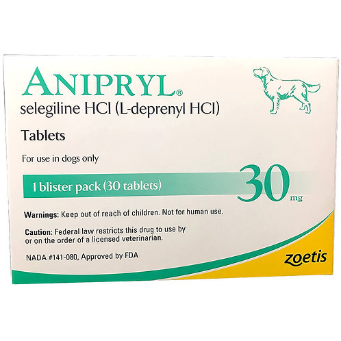 Anipryl Rx, 30 mg x 30 ct