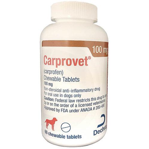 Carprovet (Carprofen) Chewable Tab 100mg 60s