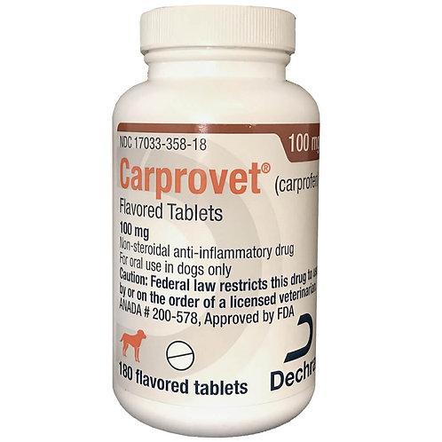 Carprovet (Carprofen) Chewable Tab 100mg 180s