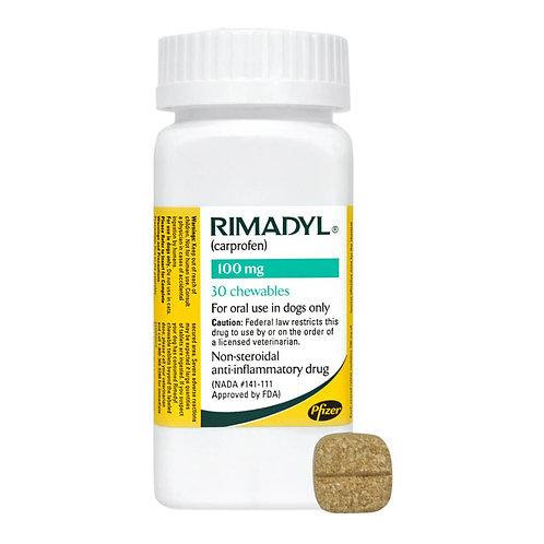 Rimadyl Rx, Chewables, 100 mg x 30 ct