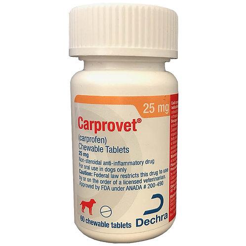Carprovet (Carprofen) Chewable Tab 75mg 60s
