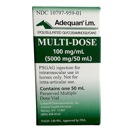 Rx Adequan i.m. Multi-dose 100mg/ml, 500mg/50ml