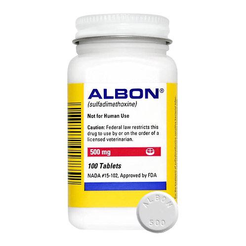 Albon Rx, 500 mg x 100 ct